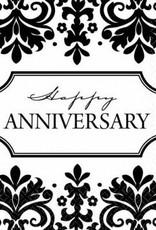 Always & Forever Happy Anniversary Beverage Napkins (16)
