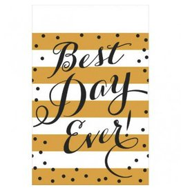 Best Day Ever Plastic Table Cover