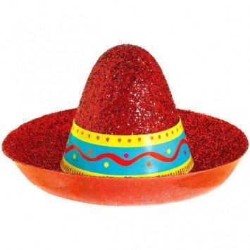 Cinco Sombrero Mini Glitter Hat