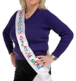 World's Greatest Mom Sash