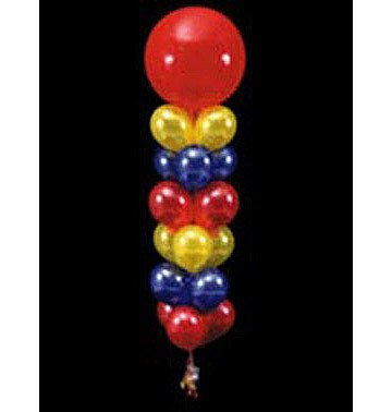 17 Balloons to a Weight Treated