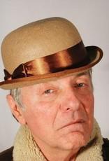 Tan Derby Hat