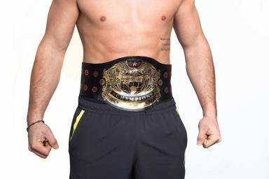 Adjustable Wrestler Champion Belt