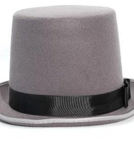 "8"" Bell Top Hat Grey"