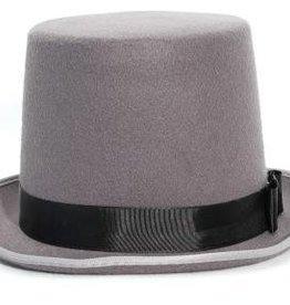 """8"""" Bell Top Hat Grey"""