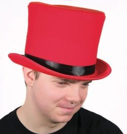 "8"" Bell Topper Red Hat"