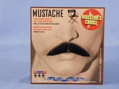 Dapper Moustache Brown