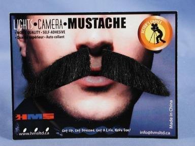 Dapper Moustache Grey