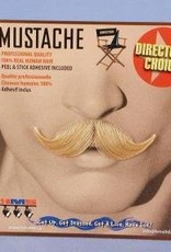 Debonair Moustache Blonde