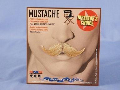 Debonair Blonde Moustache