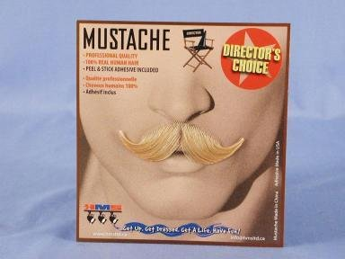 Debonair Moustache Grey