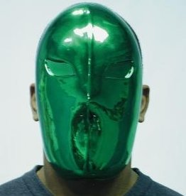 Alien See Out Green Mask