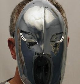 Alien See Out Silver Mask