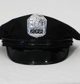 Police Hat Black