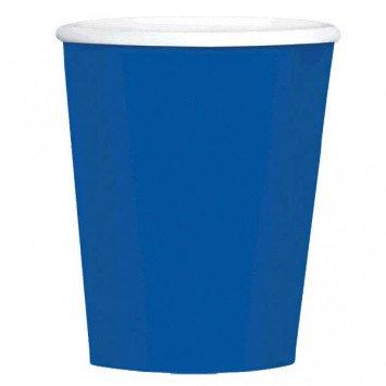 Bright Royal Blue 9oz Paper Cup (8)