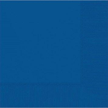 Bright Royal Blue Beverage Napkin (20)