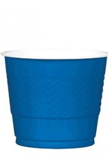 Bright Royal Blue 9oz Plastic Cup (20)
