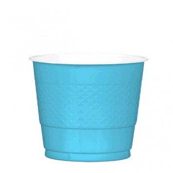 Caribbean Blue 9oz Plastic Cup (20)