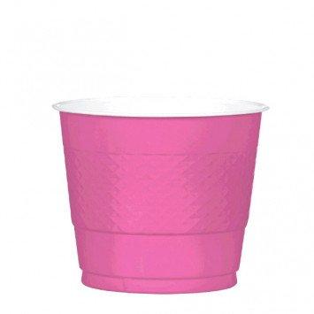Bright Pink 9oz Plastic Cup (20)
