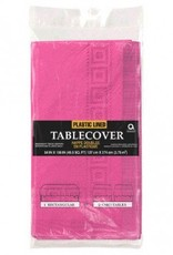 Bright Pink Paper Tablecover