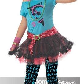 Children's Costume 80's Valley Girl Large Tween (10-12)