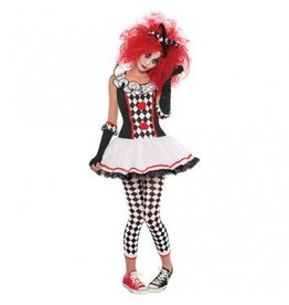 Teen Costume Harlequin Honey Medium (7-9)