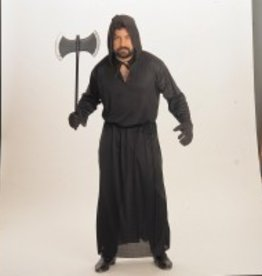 Men's Costume Horror Robe Black