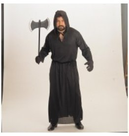 Men's Costume Horror Robe Black