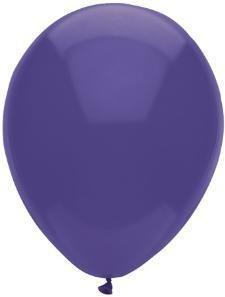 "11"" Regal Purple Partymate Balloons (100)"