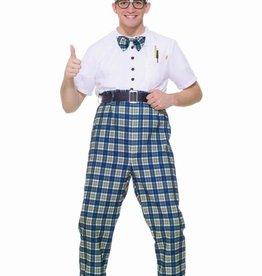 Men's Costume Class Nerd