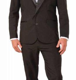 Men's Costume Instant Zip Up Tuxedo Medium