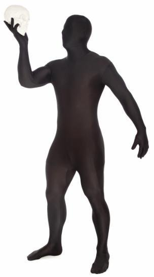 Adult Costume Morphsuit Original Black Medium