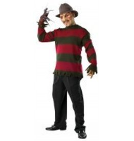 Men's Costume Freddy Krueger Sweater Standard Size