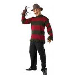 Men's Costume Freddy Krueger Sweater Standard Size