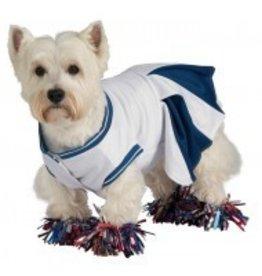 Dog Costume Cheerleader Small