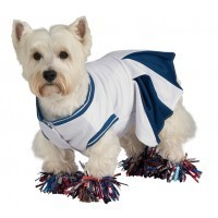 Dog Costume Cheerleader Small