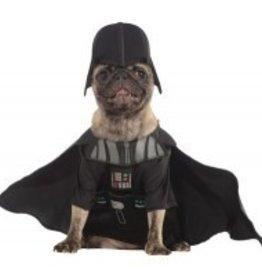 Dog Costume Darth Vader Large