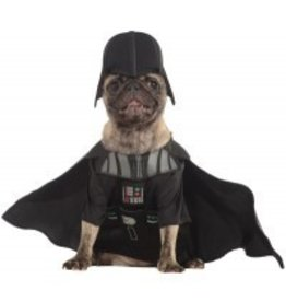 Dog Costume Darth Vader Medium
