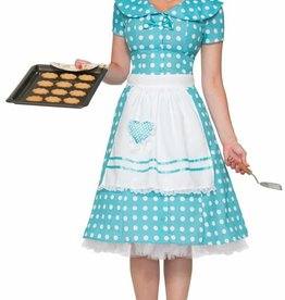 Women's Costume 50s Housewife M/L