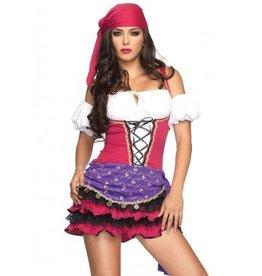 Women's Costume Crystal Ball Gypsy Medium/Large