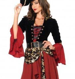 Women's Costume Cruel Seas Captain Small