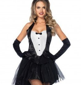 Women's Costume Tux & Tails Bunny XSmall