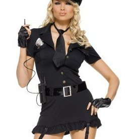 Women's Costume Dirty Cop XSmall