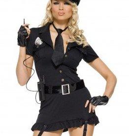 Women's Costume Dirty Cop Medium/Large