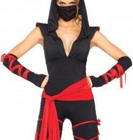 Women's Costume Deadly Ninja Large