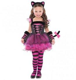 Children's Costume Purrfect Ballerina Small (4-6)