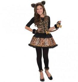 Child Costume Sassy Spots Medium (8-10)