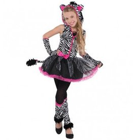 Children's Costume Sassy Stripes Medium (8-10)