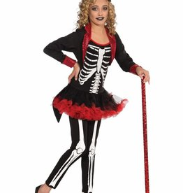 Children's Costume Miss Bone Jangles Large