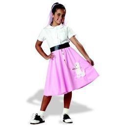 Children's Costume Poodle Skirt Medium (8-10)